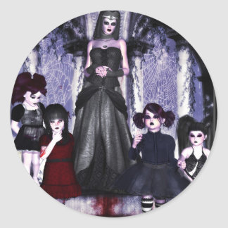 Deranged Dolly House Dominieon Sticker