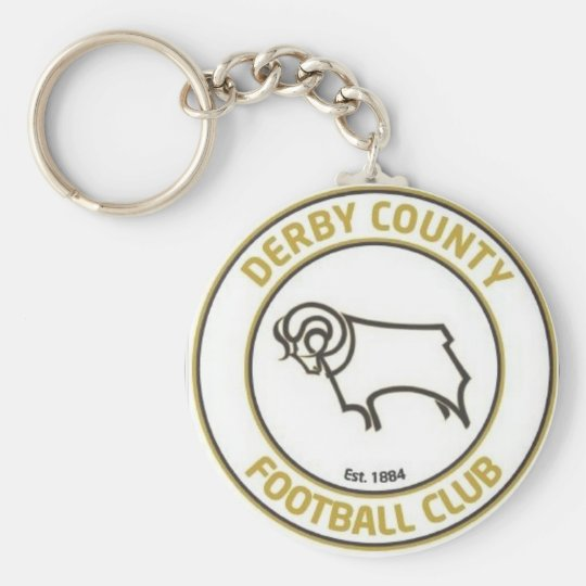 derby county football club basic round button key
