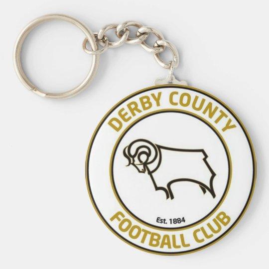 Derby County Logo Key Ring