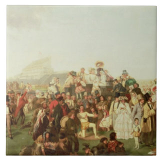Derby Day (copy) Large Square Tile
