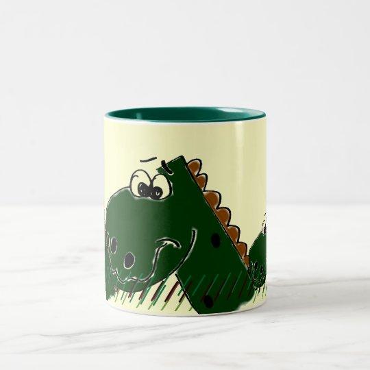 Derby Dinasour Drinking Mug