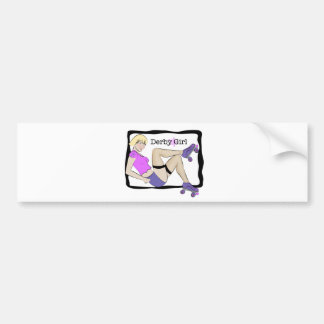 Derby Girl Bumper Sticker