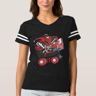 Derby Girl Red & Black Shirt Alt