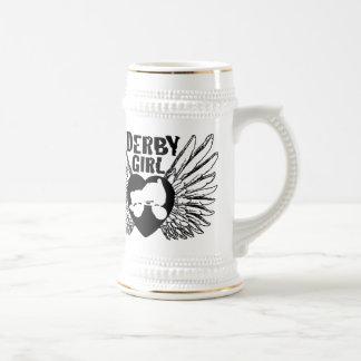 Derby Girl, Roller Derby Beer Stein