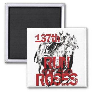 Derby II Gifts & Greetings Square Magnet