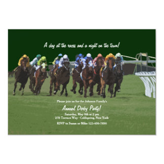 Derby Inspiration Horse Racing Invitation