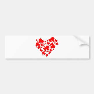 Derby Love Bumper Sticker