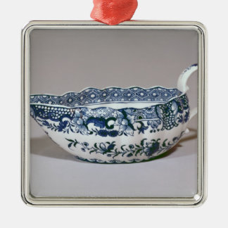 Derby sauceboat, c.1765 christmas ornament