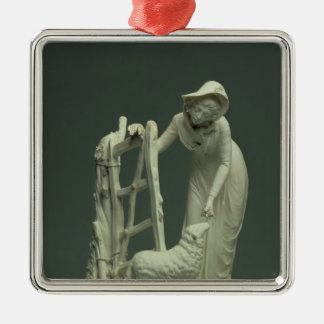 Derby shepherdess, 1790 christmas ornament