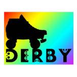derby : skullphabet postcard