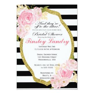 Derby Theme Bridal Shower Invitation