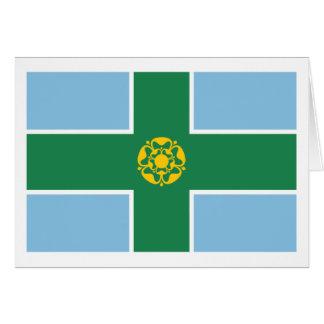 Derbyshire Flag Card