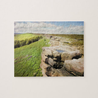 Derbyshire Stanage Edge Jigsaw Puzzle
