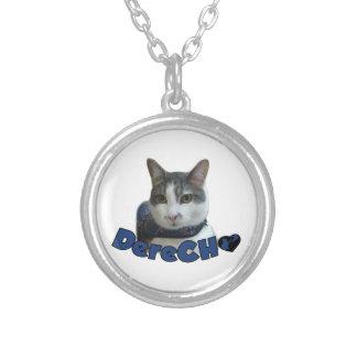 Derecho Products Round Pendant Necklace