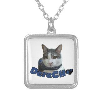 Derecho Products Square Pendant Necklace