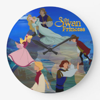 Derek and Odette Romantic Wall Clock