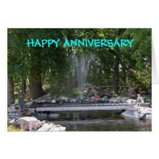 derek pond, HAPPY ANNIVERSARY Card