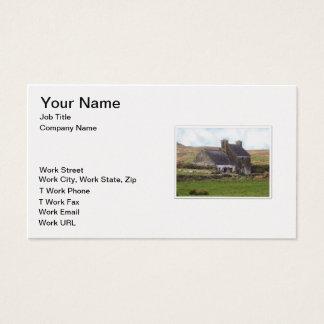 Derelict Irish House Business Card