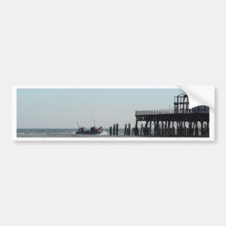 Derelict Pier Bumper Stickers