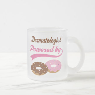 Dermatologist Funny Gift Frosted Glass Mug