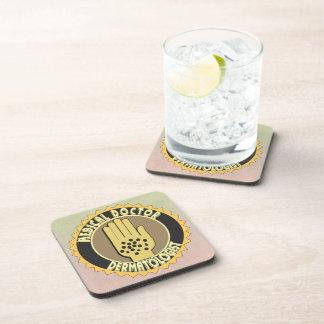 Dermatologist LOGO Drink Coasters