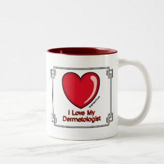Dermatologist Two-Tone Mug