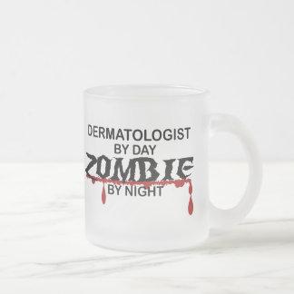 Dermatologist Zombie Frosted Glass Mug