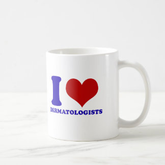 dermatologists design basic white mug