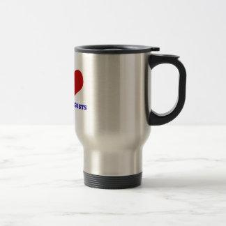 dermatologists design stainless steel travel mug
