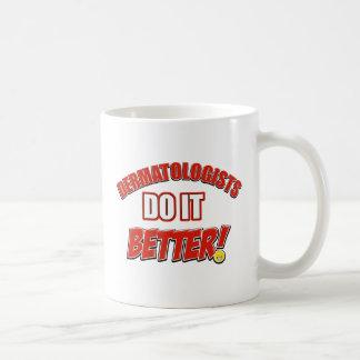 Dermatologists do it better basic white mug