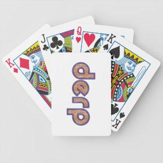 Derp 3 deck of cards