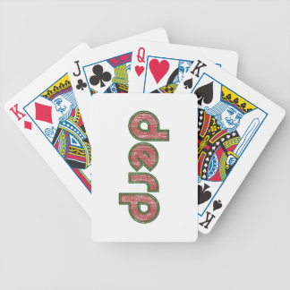 Derp 4 poker cards