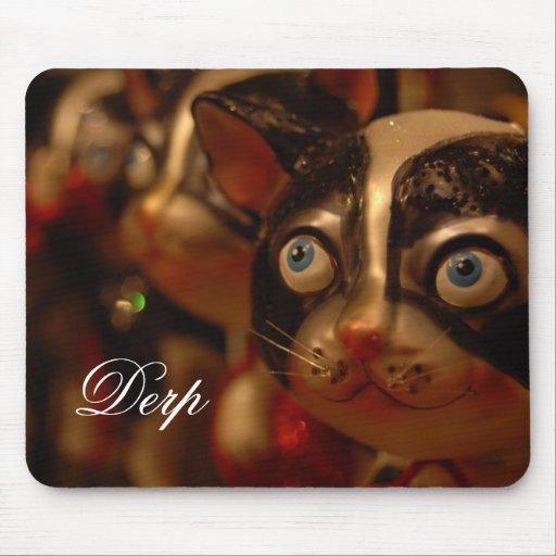 Derp cat mouse pads