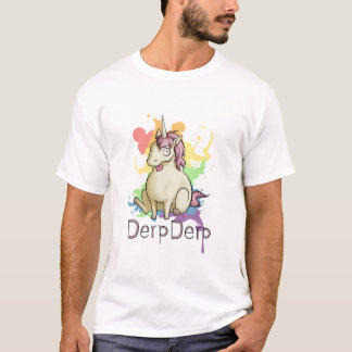 Derpderp the Unicorn T-Shirt