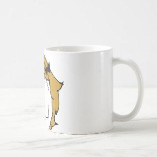 Derpina - blond hair, ribbon - meme basic white mug