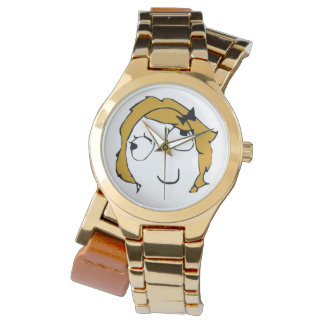 Derpina Custom Gold Wrap-Around Watch