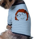 Derpina - meme pet t shirt