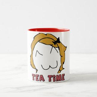 """Derpina """"TEA TIME"""" MEME Mug"""