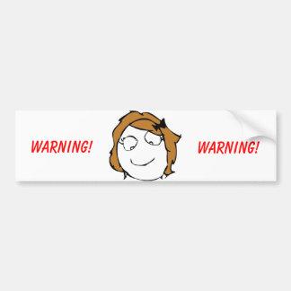 Derpina Troll Bumper Sticker