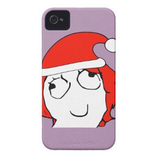 Derpina Xmas Meme Case-Mate iPhone 4 Cases