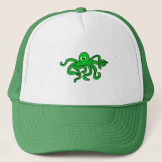 Derpy Octopus Trucker Hat