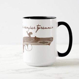Derringer Pistol - Death To Tyrants Mug
