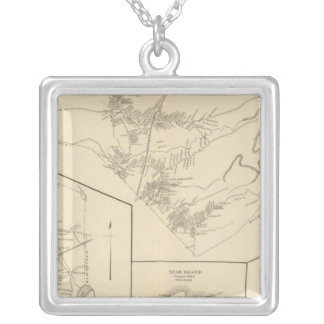 Derry, Seabrook, Rye Silver Plated Necklace