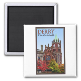 Derry - The Guildhall Magnet