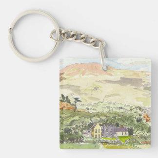 Derrynane House Key Chain
