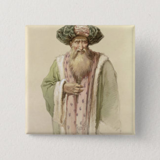 Dervish - from Bosnia 15 Cm Square Badge