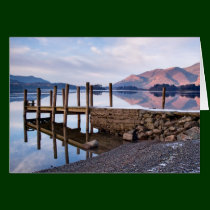 Derwentwater and Ashness Jetty, The Lake District Card