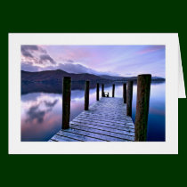 Derwentwater from Ashness Jetty, The Lake District Card