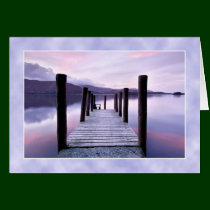 Derwentwater from Ashness Jetty, The Lake District Greeting Card