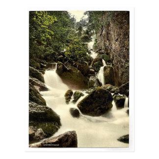 Derwentwater, Lodore Falls, Lake District, England Postcard